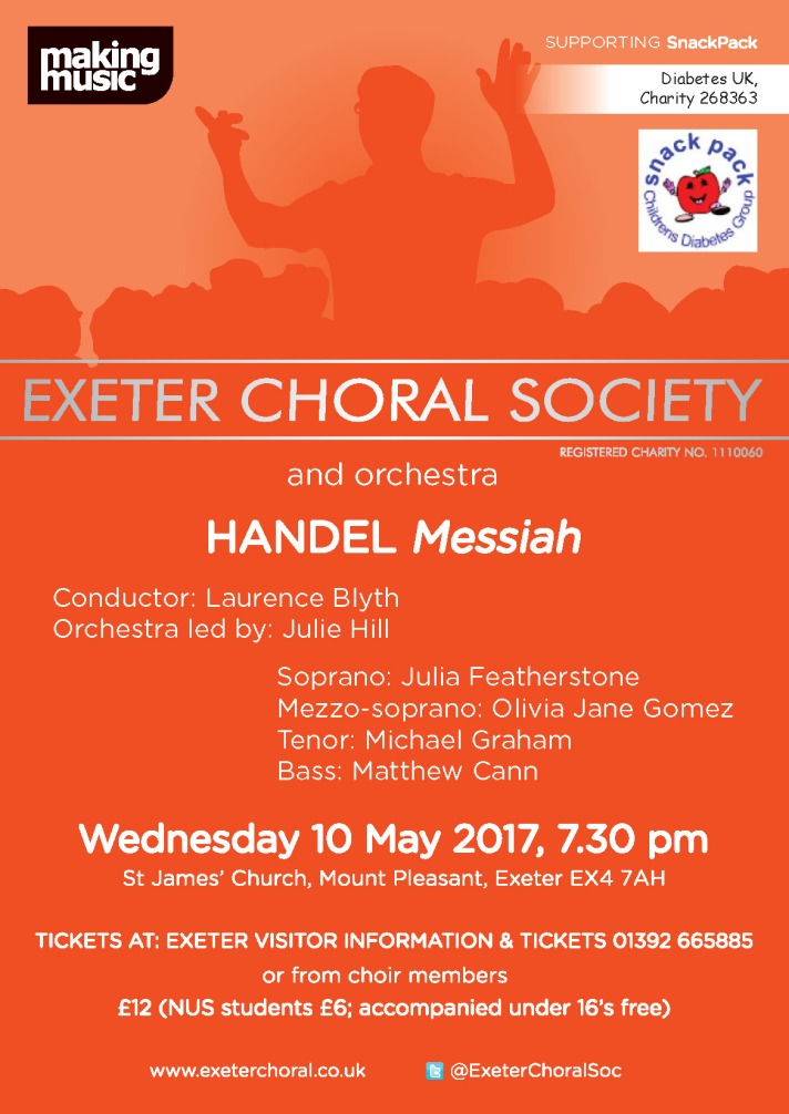 Exeter Choral Messiah Poster
